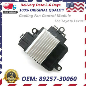 Unit Ecu Radiator Cooling Fan Control Module For Lexus Es350 Toyota Rav4 Sienna