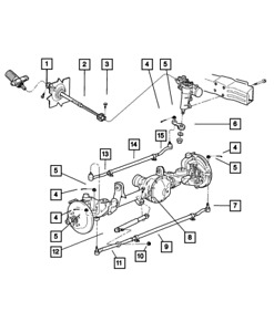 Genuine Mopar Pitman Arm 52088242