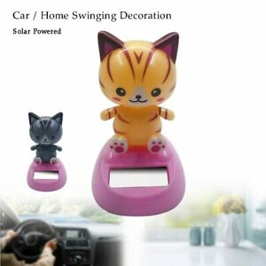 Car Ornament Solar Powered Dancing Swinging Animated Bobble Dancer Toy Car Decor