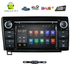 For 2007 2013 Toyota Tundra Sequoia Navigation System Car Dvd Gps Player Radio