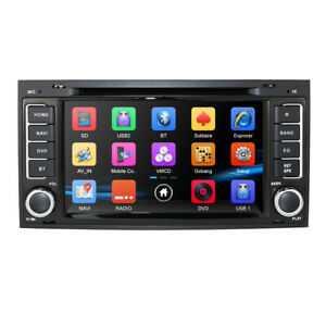 7 Car Dvd Player Gps Navigation Radio Stereo Canbus For Vw Volkswagen Touareg