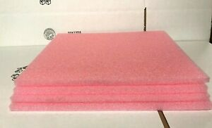 Lot Of 4 Anti Static Firm Foam Electrical Shipping Pack Sheets 18 5 X 16 X 5
