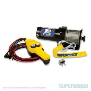 Superwinch Atv utv Utility Winch 2 000 Lb Capacity With 49 Steel Cable