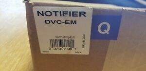 Notifier Dvc em New In Box All Parts And Manual Free Shipping