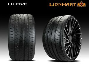 4 New Lionhart Lh five 285 35zr18 101w Xl All Season High Performance Tires