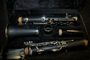 Clarinet with Case + Care Kit for Beginner Black