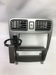 Subaru Forester Sg Cup Holder Climate Control 2din Audio Panel Black 72311sa002