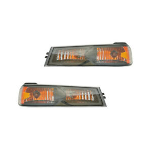 New Pair Of Turn Signal Lights Fits Chevrolet Colorado Lt 2006 2012 Gm2521189