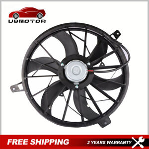 New Radiator Cooling Fan Assembly For Jeep Grand Cherokee Liberty 4 0l 4 7l