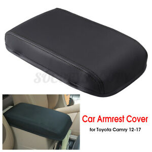Pu Leather Car Console Armrest Center Lip Cover For Toyota Camry 2012 2017