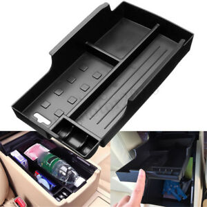 Car Center Console Armrest Storage Box Organizer Tray For Toyota Camry 12 15 Us
