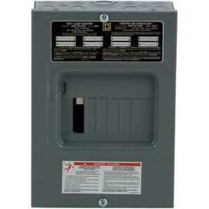 Breaker Box 100 Amp 8 space 16 Circuit Indoor Surface Mount Main Lug Load Center