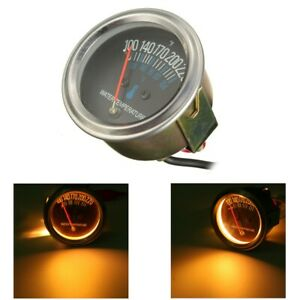 2 52mm Universal Car Mechanical Water Temperature Temp Meter Gauge 100 220 12v