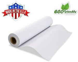 White Kraft Paper Wide Jumbo Roll Ideal For Gift Wrapping Art craft Postal New