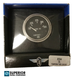 Stewart Warner Deluxe Trans Oil Temperature Gauge 82344