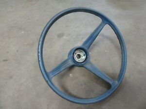 1967 Amc American Rambler Interior Steering Column Steering Wheel Hot Rod Parts