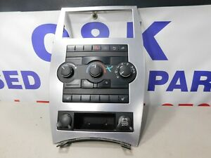 08 10 Jeep Commander Radio Climate Dash Bezel Parking Assist Storage X35011700