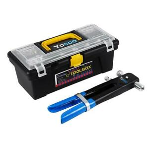 Theworks 14 Tool Box With Lid Organizers And Removable Tool Tray