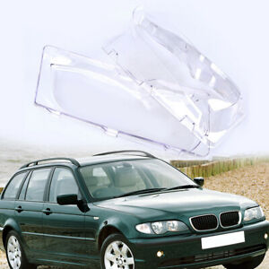 Fit Bmw E46 325i 330i 330xi 2002 2003 2004 2005 Headlight Cover Lens Clear Part