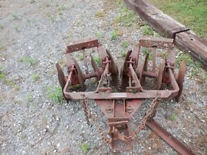 Farmall Cub Disk Harrow King Plow Co Model Cl 252 Vgc See Details