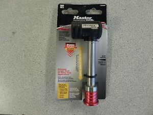 Master 1469dat Heavy Duty 5 8 Stainless Steel Hitch Receiver Lock