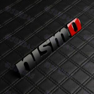 Front Grill Grille Hood Emblem 3d Car Badge Decal For Nissan 350z 370z Nismo Jdm