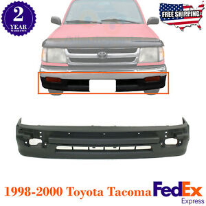 Front Bumper Cover Textured With Trim Holes For 1998 2000 Toyota Tacoma 2wd