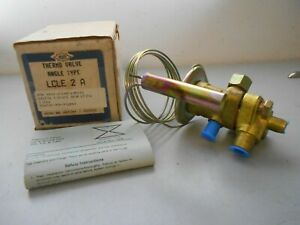 Alco Lcle 2 a Thermo Liquid Injection Valve Angle Type Nsn4820 01 053 5372