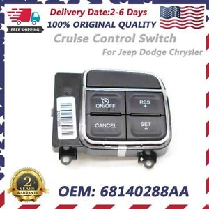 New Oem 68140288aa Cruise Control Switch Fit Jeep Dodge Ram Chrysler 2011 2015