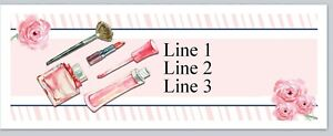 Personalized Address Labels Cosmetics Makeup Buy 3 Get 1 Free jx 628