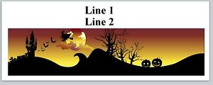 Personalized Address Labels Scary Halloween Night Buy 3 Get 1 Free jx 625