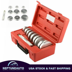Kit 10 Bearing Race And Seal Install Driver Wheel Axle 9 Discs Collar Axle