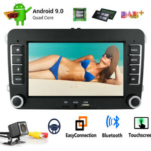 For Vw Volkswagen Tiguan Android 9 0 Wifi 2din Radio Gps 7 Car No Dvd Player Bt