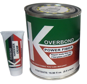 Repair Body Filler For Fiberglass And Smc Power Fiber