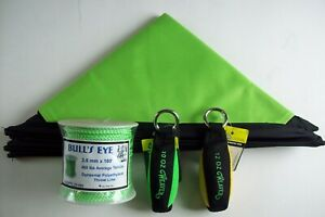 Throw Line Kit Deluxe Cube 10oz 12oz Throw Bags Bull s Eye 2 5mm 180