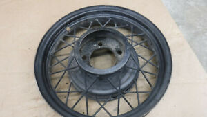 V8 Ford 17 Wire Wheel Mt 5092