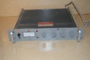 Power Designs Model 2k20a High Voltage Regulated Dc Power Supply 2t