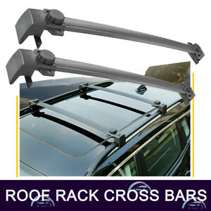 Roof Rack Cross Bar Cargo Carrier For Jeep Compass 2017 19 Two Side