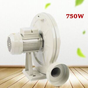 750w Exhaust Fan Iron Blower Exhausting Dust Smoke For Engraver 1300m h 2300pa
