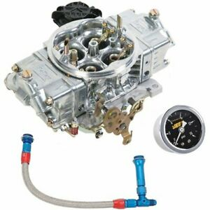 Holley 0 82750sak Aluminum Street Hp Carburetor Kit Includes 750 Cfm Carburetor