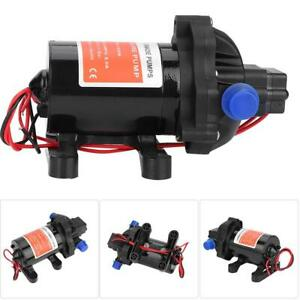 12v 45psi High Pressure Diaphragm Water Pump 3 5 Gpm For Car Marine Yacht Boat