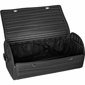 Car Trunk Cargo Storage Bag Organizer Foldable Multi Purpose Holder Box Black