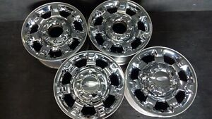4 Ford F250 F 250 F350 F 350 Super Duty Excursion Wheels Rims Caps 18