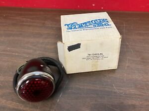 1937 Ford Car Lh Deluxe Tail Light Lamp Assembly 12v Nors 620