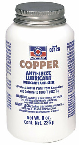 Permatex 09128 copper Anti seize Thread Lubricant 8 Oz