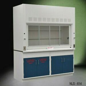 6 Laboratory Chemical Fume Hood W Flammable General Storage Cabinet E1 056