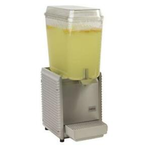 Crathco D15 4 1 Bowl Refrigerated Beverage Dispenser With Plastic Side Panel