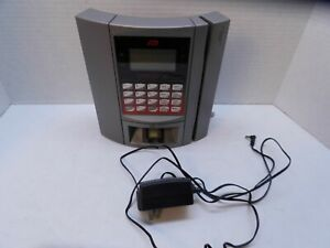 Adp Maximus Employee Time Clock With Key Model 6101 01 Ac Adapter