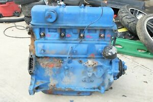 62 65 Early Ford 4000 Tractor 801 901 Engine Motor