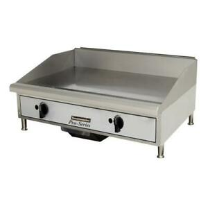 Toastmaster Tmgm24 24 In Pro series Manual Countertop Gas Griddle